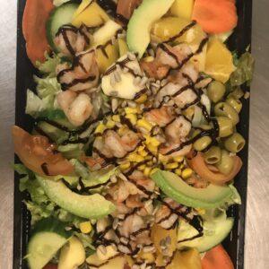 Scampi salade